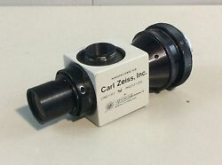 Carl Zeiss Urban Photo F=250/cine F=107 Adapter, Medical, Lab, Microscope Parts
