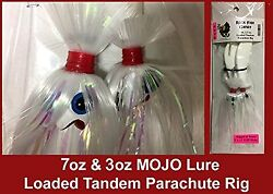 Blue Water Candy - Rock Fish Candy 7oz And 3oz Mojo Lure Loaded W/ 9 Shads
