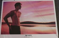 Bruce Weber Abercrombie And Fitch Andndash Giant Calendar 24x32 - Rare Limited Edition