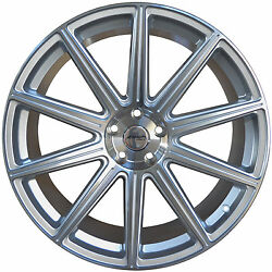 4 Gwg Wheels 20 Inch Staggered Silver Mod Rims Fit Bmw 3 Series 2 Doore9207-17