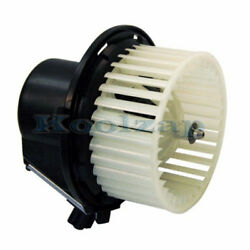 96-00 Caravan Voyager Rear Heater Ac A/c Cooling Blower Motor Assembly Fan Cage