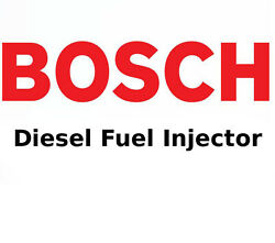 Bosch Diesel Nozzle Fuel Injector 2.5l For Dodge Ford Jeep Cherokee Tds Td 88-01