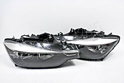 BMW 3 Series F30 F31 2011- Halogen Headlights Front Lamps PAIR RH+LH ZKW OEM