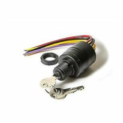 Mercury Push To Choke Ignition Switch Replaces 87-88107 87-88107a5 Potted Wires