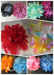 Wholesale And Job Lots 50 Lovely Hair Flowers Brooch Accessories Clips Clearance
