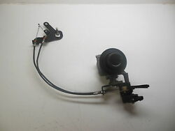 Mercury Outboard Intake Throttle Body Assembly, Cable, Bracket P/n 893301t02,...