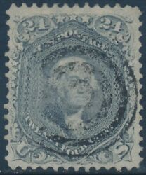 78b 24andcent 1862 Fray Vf Used With Target Cancel Cv 450 Bt8020