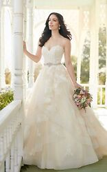 Martina Liana Wedding Dress STYLE 821- Brand New IvoryWhite