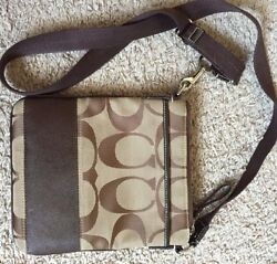 Crossbody Coach Bag Brown very lightly used $30.00