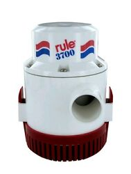 Rule 3700 Gph 14a Non Automatic Bilge Pump 1-1/2 Outlet 12v 14a Fastship