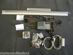 Newall 2 Axis Digital Readout Dro System For Lathe Package 14 X 60