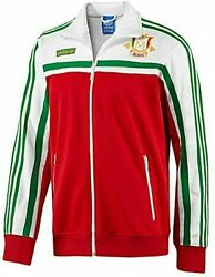 X Large Adidas Originals Menand039s Mexico Firebird Track Top Jacket White Green Red