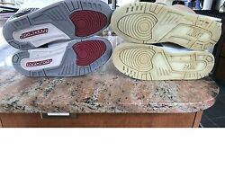 Nike Air Yeezy 1 And White Cement 3's