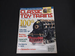Vintage July 2002 Classic Toy Trains Magazine Model Railroading Vg-cond