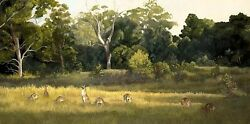 Original Oil Painting Direct From Artist Landscape. Queensland Dreaming