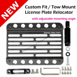 Cadillac Cts Coupe 11-14 Non-v Multi Angle Tow Hook Mount License Plate Bracket