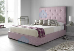 Fairmont 6ft Super King Bed With Buttoned Headboard In Various Colours And Fabrics