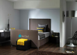 4ft6 Double Divan Bed With Free Memory Foam Mattress And Headboard