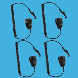 4ps Shoulder Speaker Mic For Motorola Apx-2000 Apx-6000 Apx-7000 Apx-7000xe P25