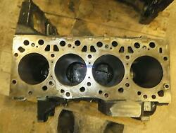 Iveco Iv 4.5l Engine Block Used Needs Bore Work And Deck Work 4 Cyl Dsl