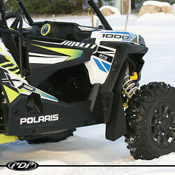 Polaris Rzr Xp 1000 And Xp1000-4 Mud Flaps / Fender Flares By Pdp _ Black