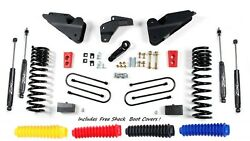 Zone Offroad D64n Full 4 Suspension Lift Kit For 2013-2018 Dodge Ram 3500 Gas