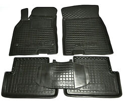 Rubber Carmats For Renault Megane Fluence All Weather Fully Tailored Floor Mats
