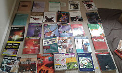 Music Books Collection Guitar Vocal Sing Theory Reading Ear Training Business