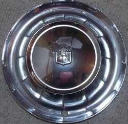 1954 Plymouth Most Models 15 Inch Hubcap Wheel Cover Original Stainless Steel