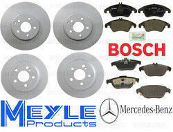 Brake Kit Mercedes E400 2DR & Convertible 15-16 w/o Sport Package Rotor Pads NEW