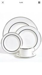 $1400 Kate spade new york Library Lane Platinum 5-Piece Place Setting set of 12