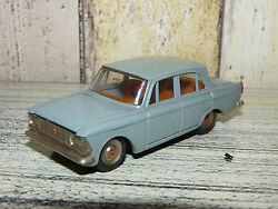 Extremely Rare Soviet Moskvich 412 A1 Metal Diecast Original Toy Car 1975