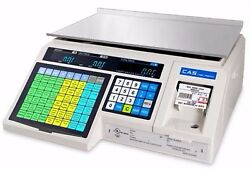 Cas Lp-1000n Ntep Label Printing Market Deli Food Scale And Labels