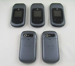 5 Pantech P2050 Breeze IV AT&T Cell Phone Lot