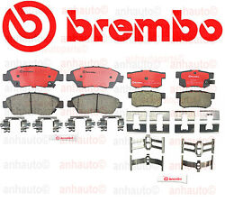 Acura Rsx Base 02-06 Civic Si 2.0 04-05 Brembo Brake Pads Front + Rear