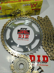 New Did 525 Vx Kawasaki Ninja Zx636 And03903/04 525 Upgrade Chain And Sprocket Kit