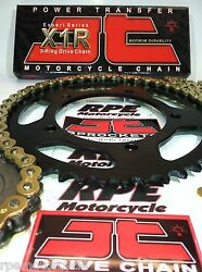 Suzuki Sv650 And03999/13 Jt Gold 520 Quick Acceleration Chain And Sprockets Kit