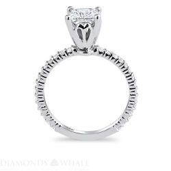 1.27 Tcw Solitaire With Accent Princess Diamond Ring Vs1/d Engagement Enhanced