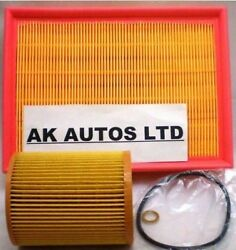 For Bmw 3 Series 325 Ci E46 00-05 2pc Service Parts Air / Oil Filters Kit