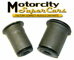 64-72 Chevrolet Chevelle Olds Gm A-body Front Lower Control Arm Round Bushings