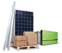 3kw 3000w Solar Pv Kit System For House On-roof Retro Fit Self Build Diy Mcs