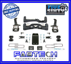 Fabtech K2188 6 Basic System W/per. Shocks Front C/o Spacers For 2014 F150 4wd