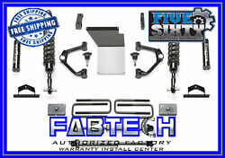 Fabtech 4 Uniball Uca Sys W/f/r Dl 2.5 Co/shock For 2014-2016 Gm C/k1500 -steel
