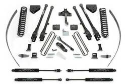Fabtech K2125m 8 4 Link System W/stealth Shocks For 08-16 F250 4wd W/o Overload