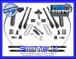 Fabtech K2017m 8 4 Link System W/ Stealth Shock For 05-07 F250 4wd W/o Overload