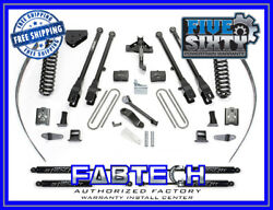 Fabtech K20171m 8 4 Link System W/ Stealth Shock For 05-07 F250 4wd W/ Overload