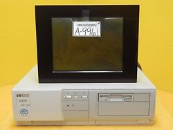 Hp Hewlett-packard D2572b System Control Pc With Monitor Kensington Csmt-4 Used