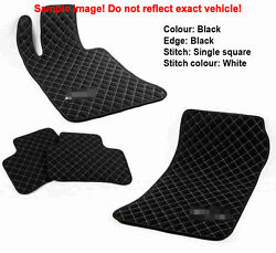 Leather Car Floor Mats Luxury Bespoke Fully Tailored Fit Audi A5 S5 Coupe 2008-