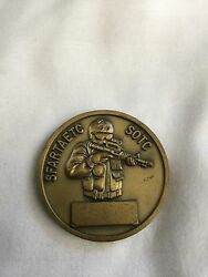 D. Co. 2nd Bn 1st. Swtg Sfartaetc Sotc Special Forces Army Challenge Coin