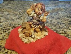 Enesco Whittle Nursery Rhymes / Whittle Girl With A Curl 1994